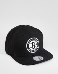 Бейсболка Mitchell & Ness SS Brooklyn Nets - Черный
