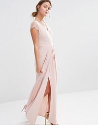 Платье макси Coast Cherina Mae - Blush