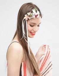 Украшение для волос с цветами и искусственными камнями ASOS - Мульти