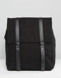 Прямоугольный рюкзак Pieces - Черный