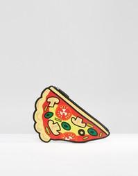 Клатч с пиццей Monki - Мульти