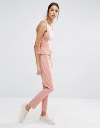 Комбинезон с карманами Missguided - Телесный