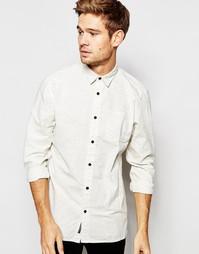 Рубашка в крапинку Selected Homme - Бежевый