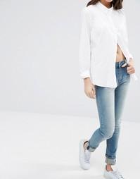 Узкие джинсы Cheap Monday - Blue turn