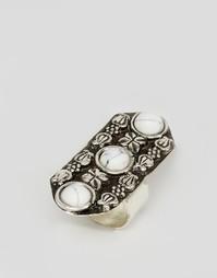 Броское фестивальное кольцо ASOS - Белый