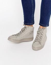 Высокие кроссовки ASOS DOWN LOAD - Серый