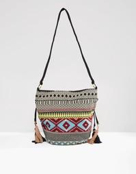 Гобеленовая сумка дафл Glamorous - Мульти