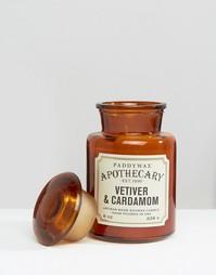 Свеча 8 унций Paddywax Apothecary - Ветивер и кардамон