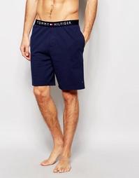 Темно-синие хлопковые шорты Tommy Hilfiger - Темно-синий