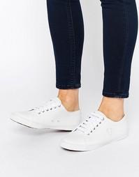 Белые кожаные кроссовки Fred Perry Spencer