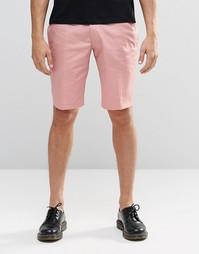Розовые облегающие шорты Religion - Розовый