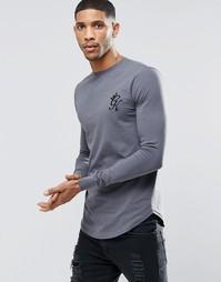 Лонгслив Gym King - Серый