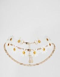 Ожерелье-чокер ALDO - Белый