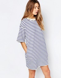 Платье в полоску Wood Wood Jean - Синий в полоску