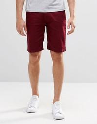 Джинсовые шорты чиносы Hoxton - Красный