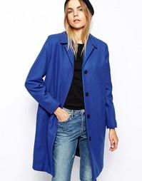 Шерстяное пальто Won Hundred Imogen - Синий