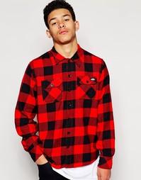 Рубашка в клетку Dickies - Красный