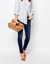 Классические джинсы скинни Boss Orange - Темно-синий