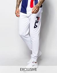 Спортивные штаны скинни Fila Black Line - Серый вереск