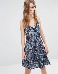 Платье Greylin Magnolia - Темно-синий