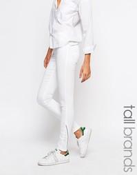 Зауженные джинсы Vero Moda Tall - Белый