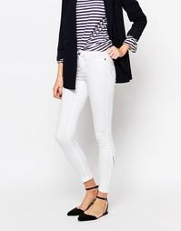 Зауженные джинсы Vero Moda - Белый