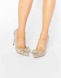 Туфли на высоком каблуке с острым носом ASOS PIMLICO - Шампанское