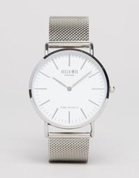 Серебристые классические часы Reclaimed Vintage - Серебряный