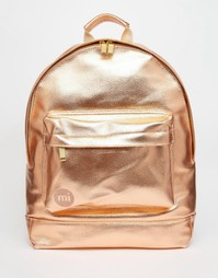 Рюкзак цвета металлик рзовое золото Mi-Pac - Розовое золото
