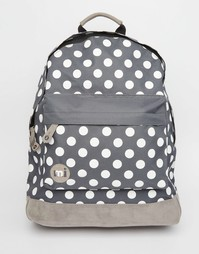 Темно-серый рюкзак в горошек Mi-Pac - Угольный