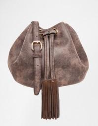 Маленькая потертая сумка дафл Glamorous - Коричневый состаренный