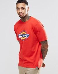 Футболка с логотипом Dickies - Красный