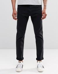 Черные суперстретчевые зауженные джинсы ограниченной серии Replay 901