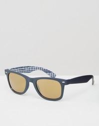 Квадратные солнцезащитные очки AJ Morgan - Серый