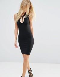 Облегающее платье Noisy May - Черный