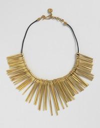 Эффектное ожерелье с бахромой Made - Латунь