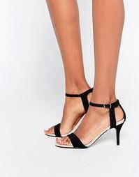 Черные сандалии на каблуке Carvela Kollude Kitten - Черный