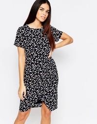 Цельнокройное платье с леопардовым принтом Sugarhill Boutique Elspeth