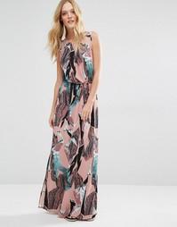 Платье макси с принтом Y.A.S Kimo - Принт