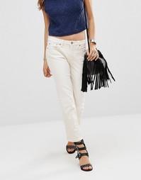 Белые джинсы Free People Jasper - Пудра