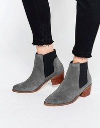 Серые ботинки челси Miss KG Spider - Серый
