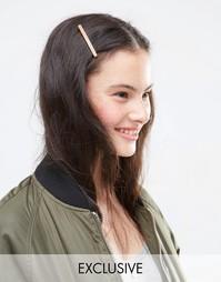Две заколки для волос ограниченной серии - Мульти Asos