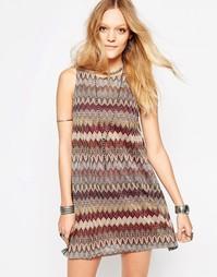 Цельнокройное платье без рукавов Glamorous - Мульти