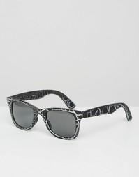 Квадратные солнцезащитные очки ASOS - Черный