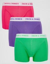 Комплект из 3 боксеров-брифов Jack & Jones - Мульти
