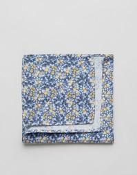 Платок-паше с цветочным принтом Jack & Jones - Синий