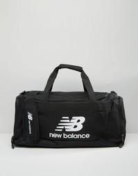 Синяя большая сумка New Balance Solar - Черный