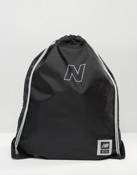 Черный рюкзак New Balance Solar - Черный