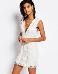 Кружевное платье Tularosa Vesta - Мел