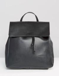 Рюкзак с клапаном Pieces - Черный